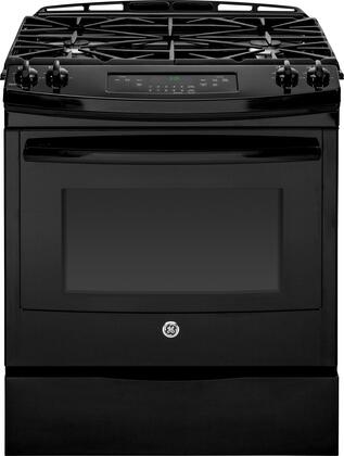 "GE JGS650DEFBB 30"" Slide-in Gas Range"