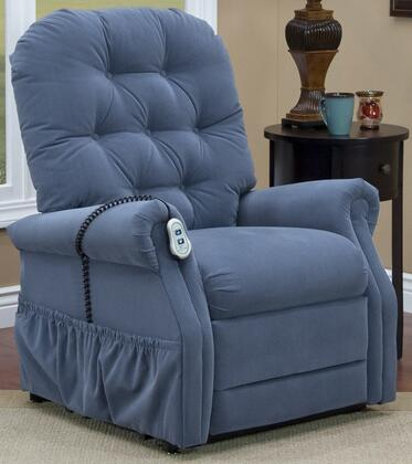 MedLift 2553TAAW Contemporary Fabric Wood Frame  Recliners