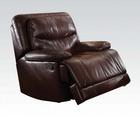 Acme Furniture 51502 Cerviel Series Transitional Wood and Metal Frame  Recliners