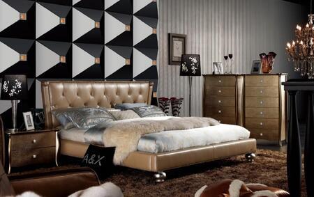 VIG Furniture AW227180CK  California King Size Platform Bed