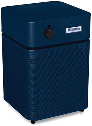 Austin Air A200 Healthmate Junior 4 Stage Air Clearner, 360 Degree Filtering System, HEPA Filter, Manual Control, 3 Speed Control Switch, Cleans 700 Sq. Ft. and Airflow Output from Upper Deck in