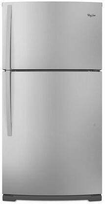Whirlpool WRT371SZBM Freestanding Top Freezer Refrigerator with 21.0 cu. ft. Total Capacity