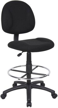 "Boss B1615BK 17.5"" Adjustable Contemporary Office Chair"