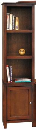 Legends Furniture CV3403GDOCurve Series  Bookcase