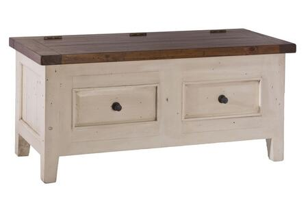 Hillsdale Furniture 5465790W Tuscan Retreat Series Rectangular Lifted Top Tunk