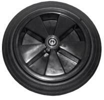 Heavy Duty Black Wheels