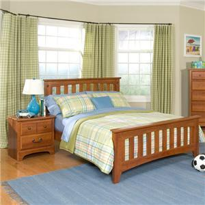 Standard Furniture 4852A Childrens Full Size Panel Bed