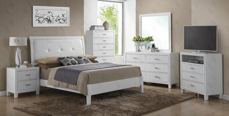 Glory Furniture G1275AKBDMNTV G1275 King Bedroom Sets