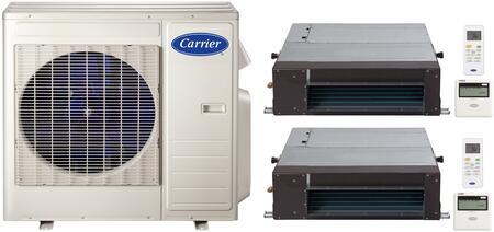 Carrier 38MGQD27340MBQB09D3X2 Performance Dual-Zone Mini Spl