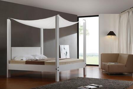 VIG Furniture VGKCLIAS Modrest Lias - Modern Canopy Bed