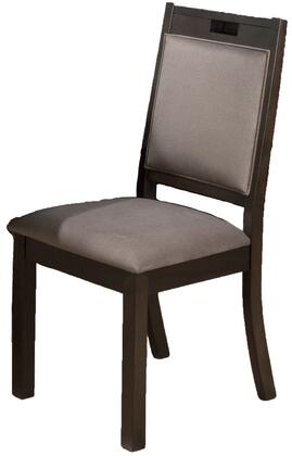 Jofran 588243KD Sensei Series Contemporary Wood Frame Dining Room Chair
