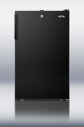 "Summit FS408BL 20""  Counter Depth Freezer with 2.8 cu. ft. Capacity in Black"
