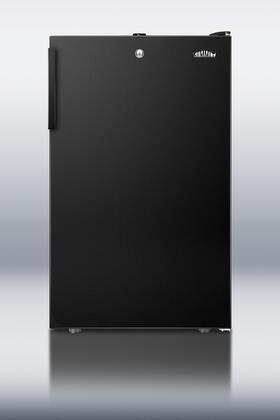 "Summit FS408BL 20""  Black Counter Depth Freezer with 2.8 cu. ft. Capacity"