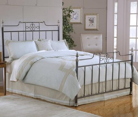 Hillsdale Furniture 1641BKR Amelia Series  King Size Poster Bed