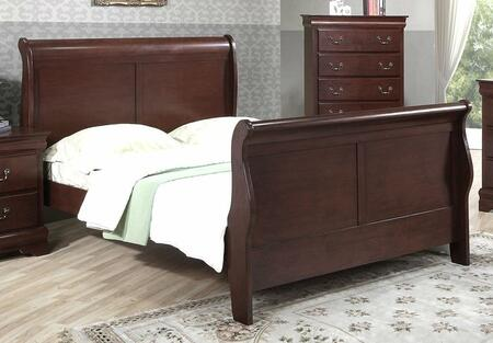 Yuan Tai 6702Q Louis Philippe Series  Bed