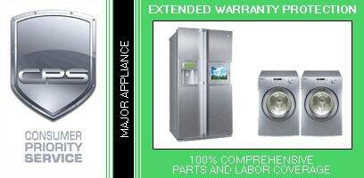 Consumer Protection Service CPSLGAP3x 3 Year Warranty on Major Appliance for Home Products