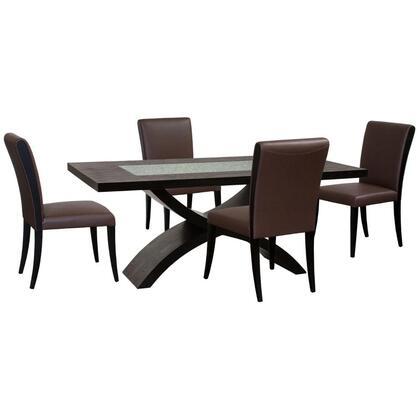 Diamond Sofa 0700A990M5PC Diamond Sofa Dining Room Sets