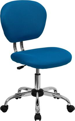"""Flash Furniture H2376FTURGG 23.5"""" Adjustable Contemporary Office Chair"""