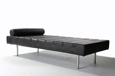 Fine Mod Imports FMI2205 Leather Classic Daybed: