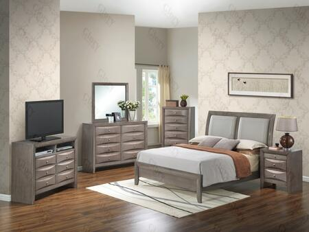 Glory Furniture G1505AQBNTV2 G1505 Queen Bedroom Sets