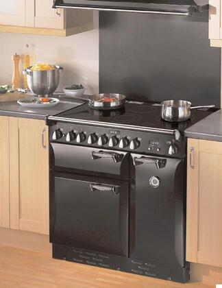 AGA ALEG36EBLK Legacy Series Slide-in Electric Range with Smoothtop Cooktop, 1.8 cu. ft. Primary Oven Capacity, in Black