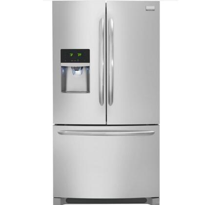 "Frigidaire FGEB28D7RF 36"" Gallery Series  French Door Refrigerator with 28.7 Total Capacity 4 Glass Shelves"
