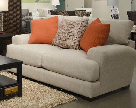"""Jackson Furniture Ava Collection 4498-26- 77"""" Loveseat with Reversible Seat Cushions, Recessed Track Arms, Chenille Fabric Upholstery and USB Port in"""