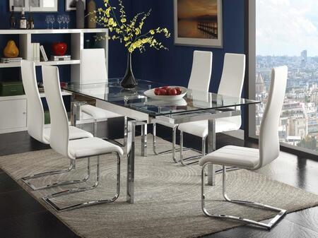 Coaster 1062815PC2 Modern Dining Dining Room Sets