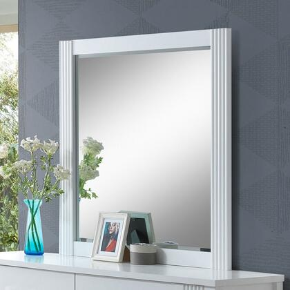 Glory Furniture G5375M Portland Series Rectangle Both Dresser Mirror