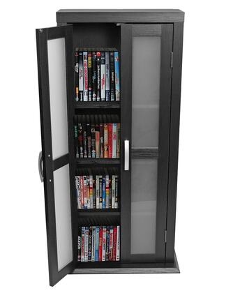 Walker Edison DT41 41 Inch Wood DVD Tower