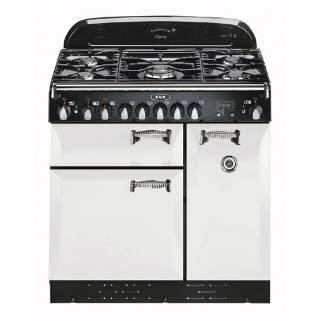 "AGA ALEG36DFWHT 36"" Legacy Series Dual Fuel Freestanding Range with Sealed Burner Cooktop, 2.2 cu. ft. Primary Oven Capacity,"