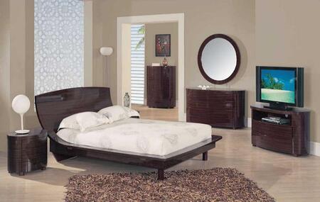 Global Furniture USA B110SQ 6 Piece Bedroom Set