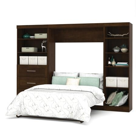 "Bestar Furniture 26892 Pur by Bestar 120"" Full Wall bed kit"