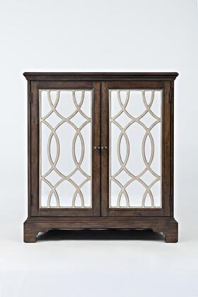 "Jofran Casa Bella Collection 156X-32 32"" Accent Cabinet with Two Doors and Adjustable Interior Shelf in XX"