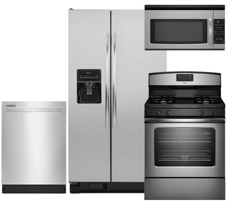 Amana AMA4PCFSSBS30GFISSKIT1 Kitchen Appliance Packages