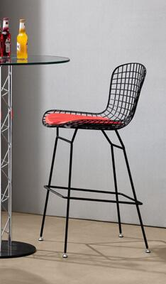 Zuo 18801 Wire Collection Barstool without Cushion