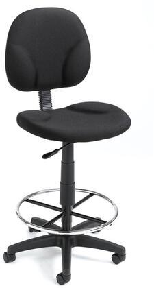 "Boss B1690BK 19.5"" Adjustable Contemporary Office Chair"