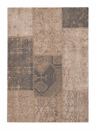 Citak Rugs 3500-050X Hudson Collection - Patchwork - Beige Mix