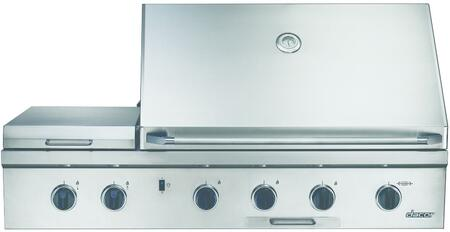 Dacor OBS52LP  Silver Built-In Grill