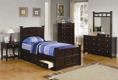 Coaster 400751FSET Jasper Full Bedroom Sets