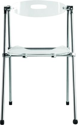 Fine Mod Imports FMI9232X Acrylic Folding Chair