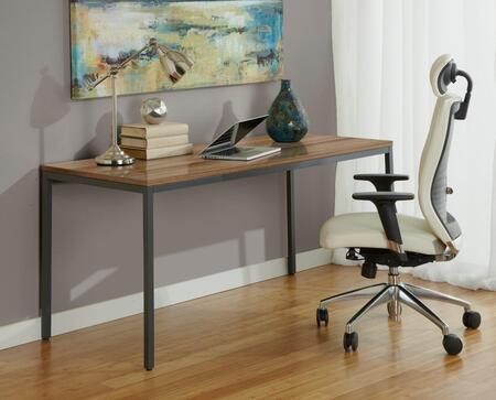 """Unique Furniture P6327 Parsons Desk 63"""""""