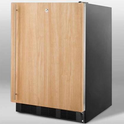 Summit SCFF55LBLIFADA  Freezer with 5 cu. ft. Capacity in Panel Ready