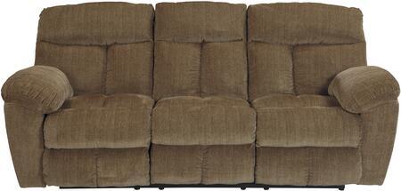 Milo Italia MI846032CARA Reginald Series Reclining Fabric Sofa