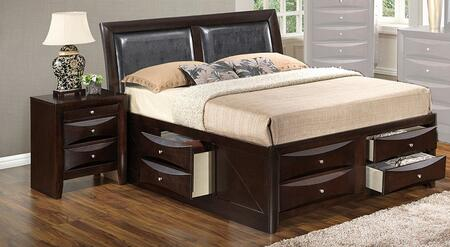 Glory Furniture G1525IQSB4N G1525 Queen Bedroom Sets