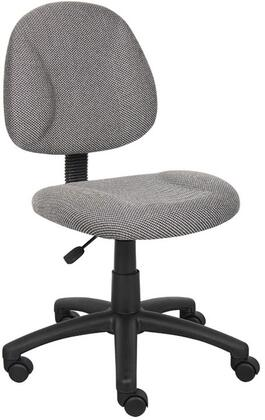 """Boss B315GY 17.5"""" Adjustable Contemporary Office Chair"""