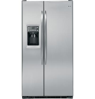 GE PSCS5RGXSS Freestanding Side by Side Refrigerator