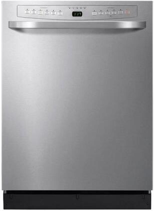 "Haier DWL4035MCSS 24"" Built-In Full Console Dishwasher with in Stainless Steel"