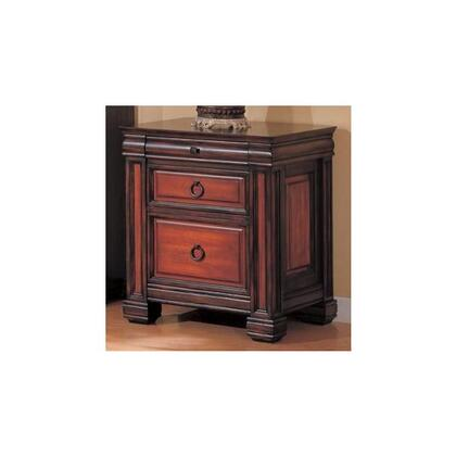 "Coaster 800694 22.5"" Wood Transitional File Cabinet"