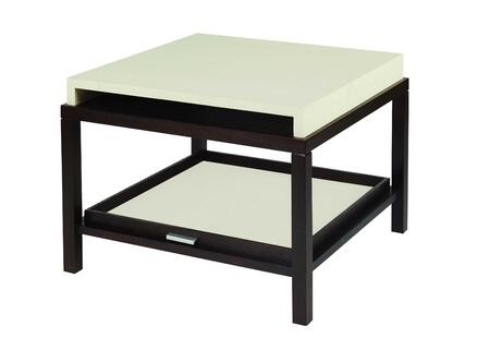 Allan Copley Designs 340302 Spats Series Contemporary Square End Table